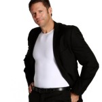 Insta Slim Posture: Men's Compression And Posture Shirt
