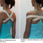 2-in-1 Posture Correction Brace Encourages Better Posture